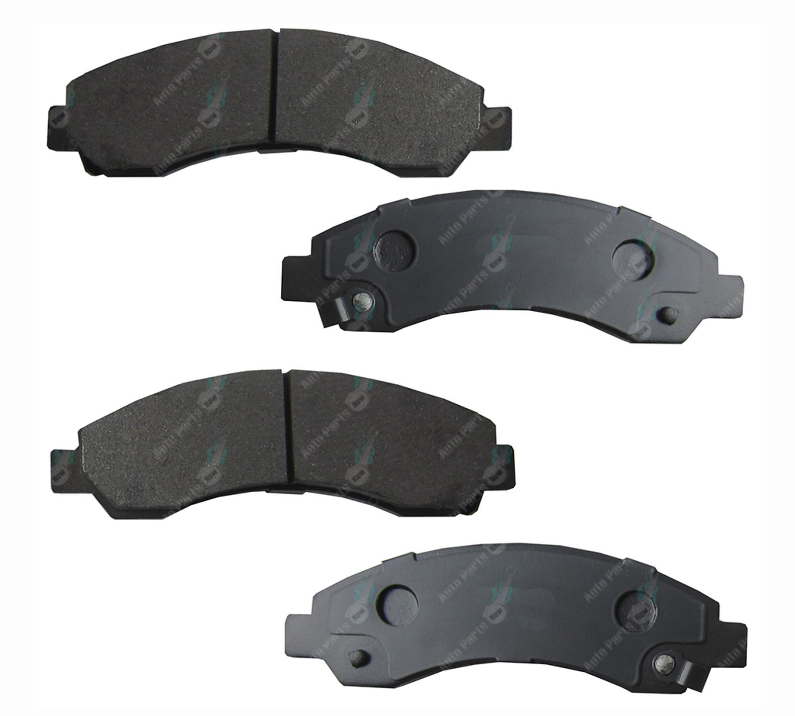 2 Front Disc Brake Rotors Great Wall V200 V240 X200 X240 K2 CC 2009-2014 RWD 4X4